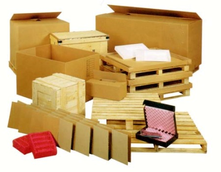 Corrugated Cartons Stock & Custom