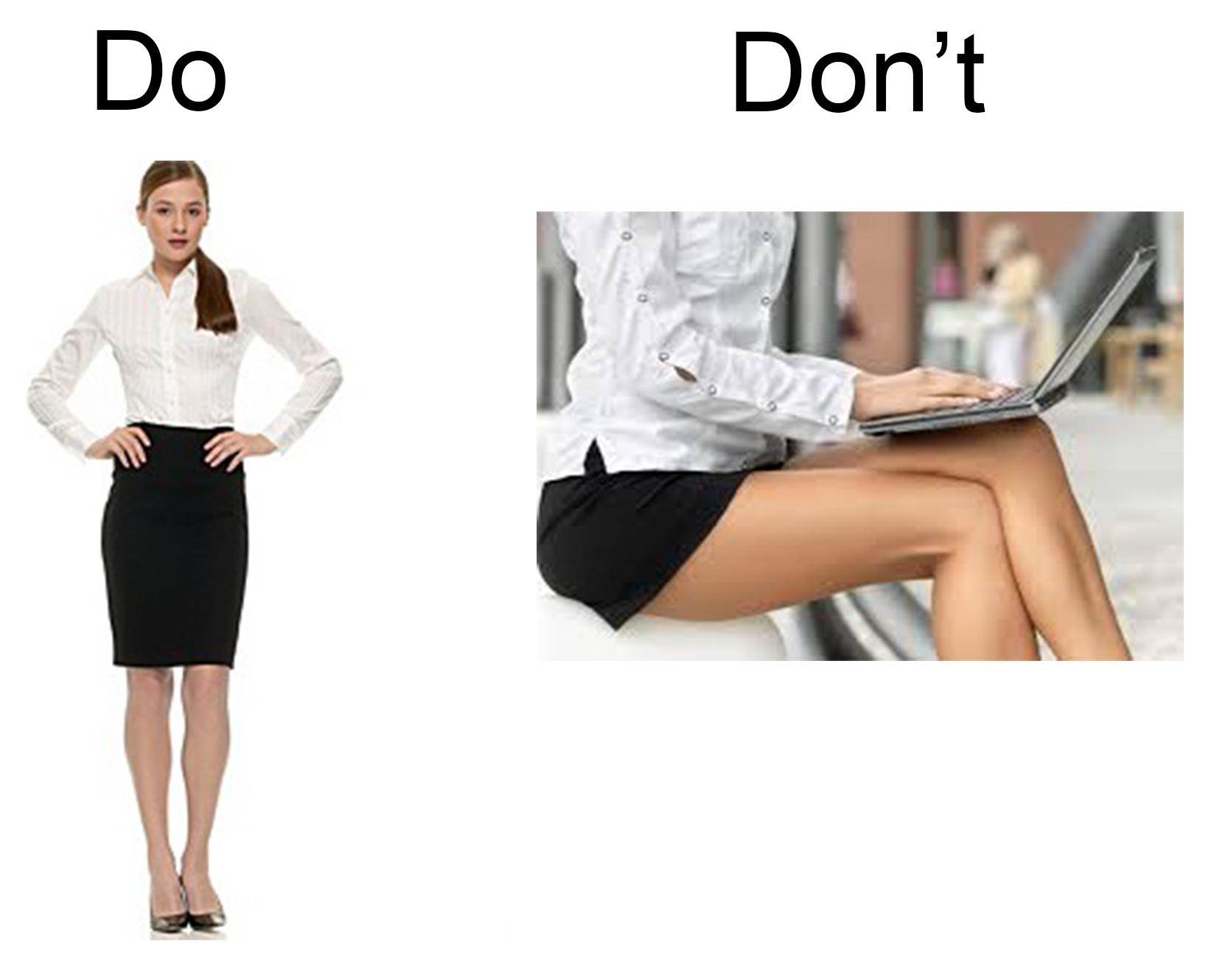 Short Skirt Office 76